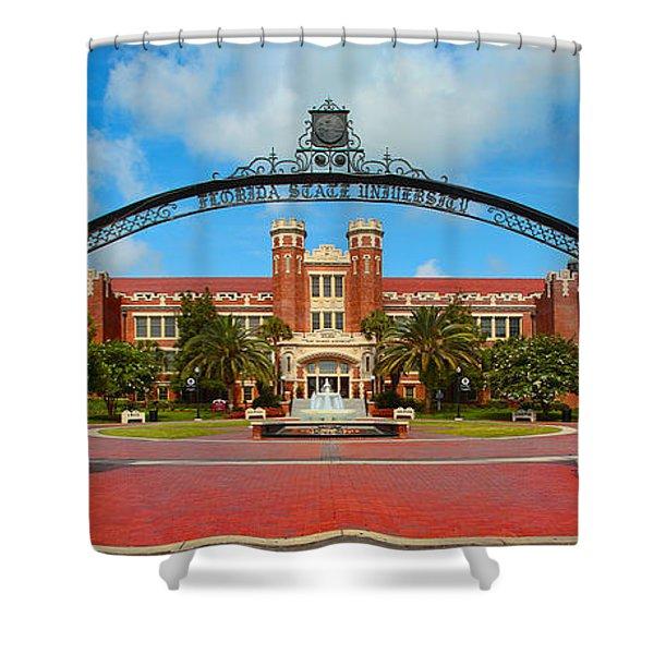 Westcott Gateway Arch - Fsu Shower Curtain