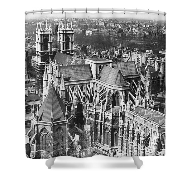 Westminster Abbey In London Shower Curtain
