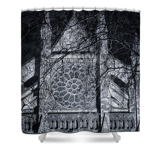 Westminster Abbey North Transept Shower Curtain