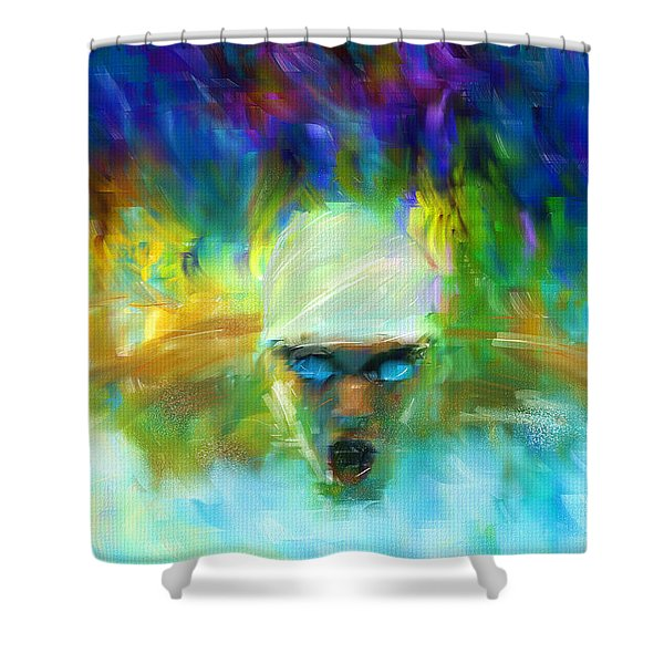 Wet And Wild Shower Curtain