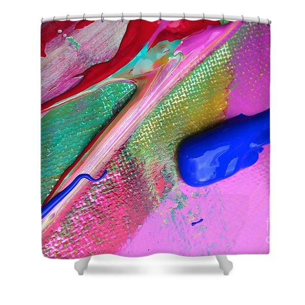 Wet Paint 31 Shower Curtain