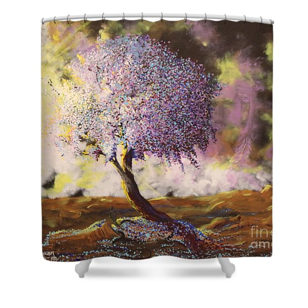 What Dreams May Come Spirit Tree Shower Curtain