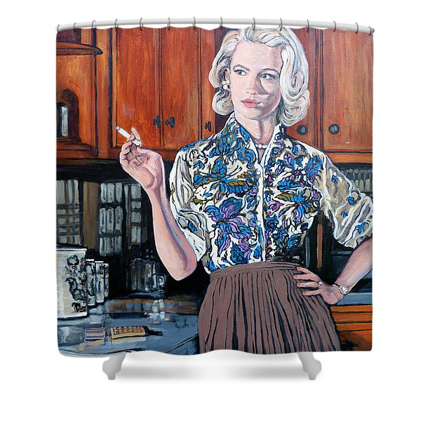 What's For Dinner? Shower Curtain