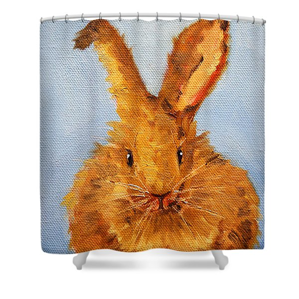 What's Up? Shower Curtain