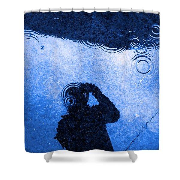 When The Rain Comes Shower Curtain