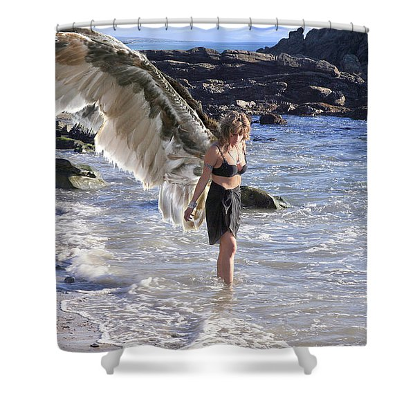 When You Were Born I Made You Smile Shower Curtain