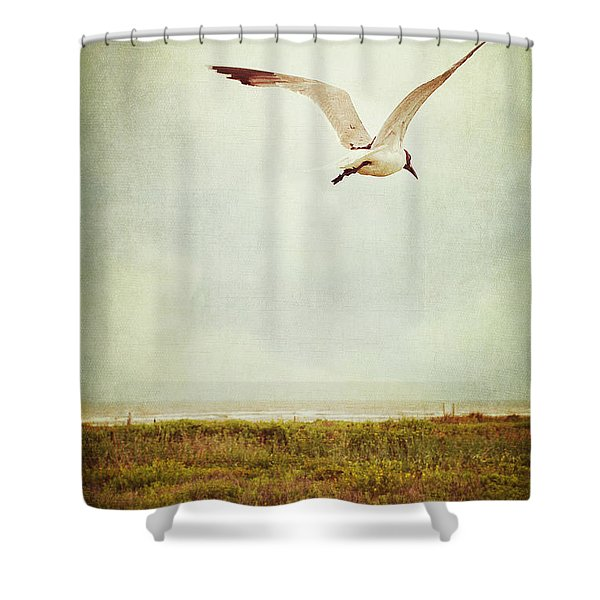 Where To Go? Shower Curtain