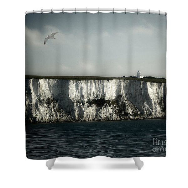 White Cliffs Of Dover Shower Curtain