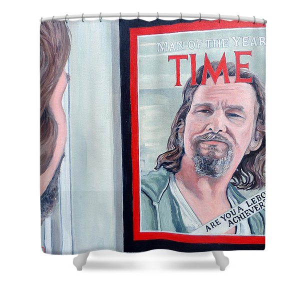 Who Is This Guy Shower Curtain