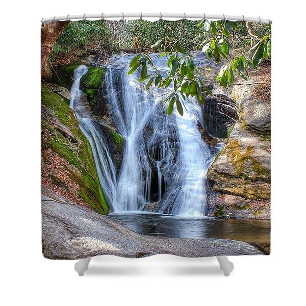 Widows Creek Falls Shower Curtain