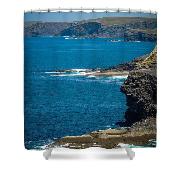 Wild Atlantic Coast Shower Curtain