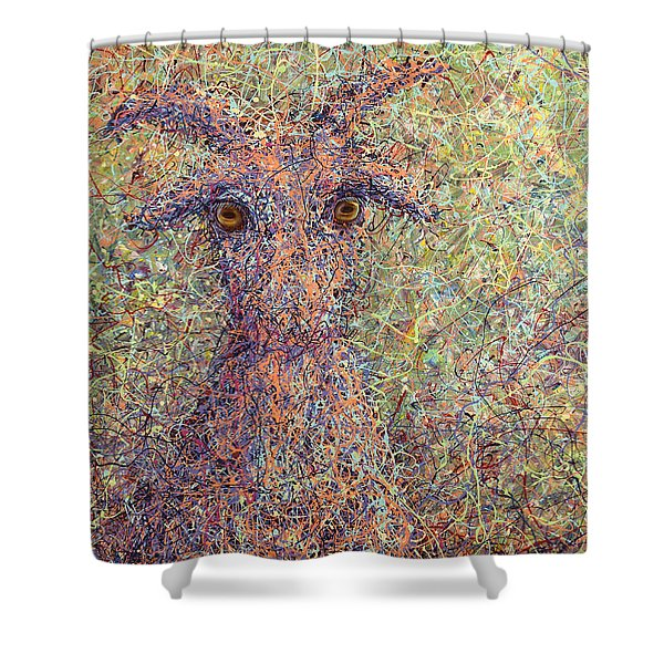 Wild Goat Shower Curtain