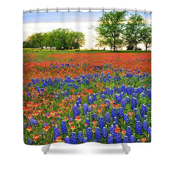 Wildflower Tapestry Shower Curtain