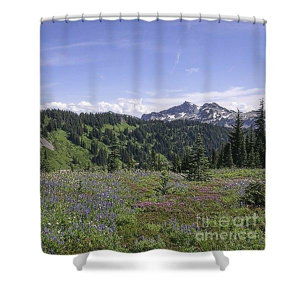Wildflower Vista Shower Curtain
