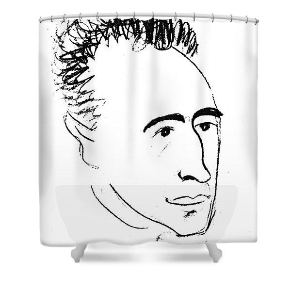 Wilhelm Reich (1897-1957) Shower Curtain