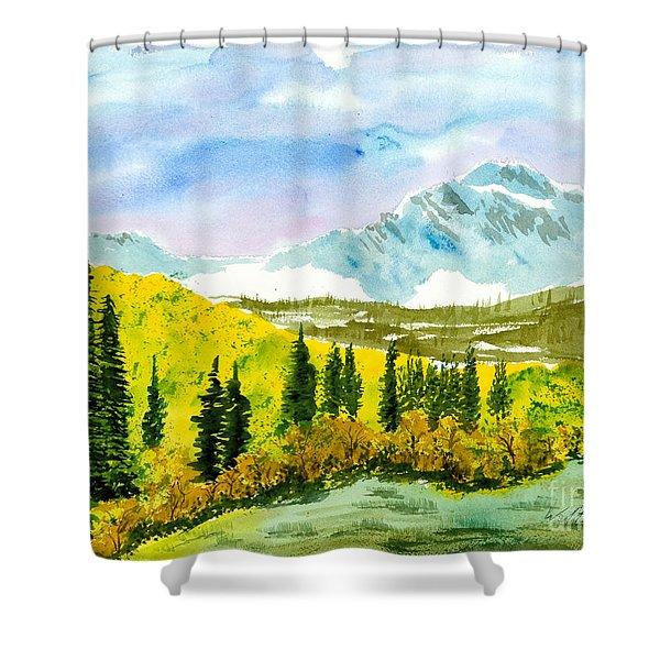 Willard Peak Shower Curtain