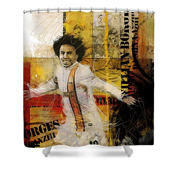 Willian Borges Di Silva Shower Curtain