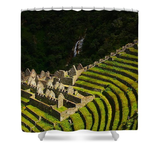 Winay Wayna Wide View Shower Curtain
