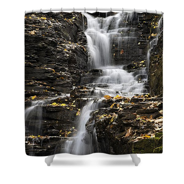 Winding Waterfall Shower Curtain