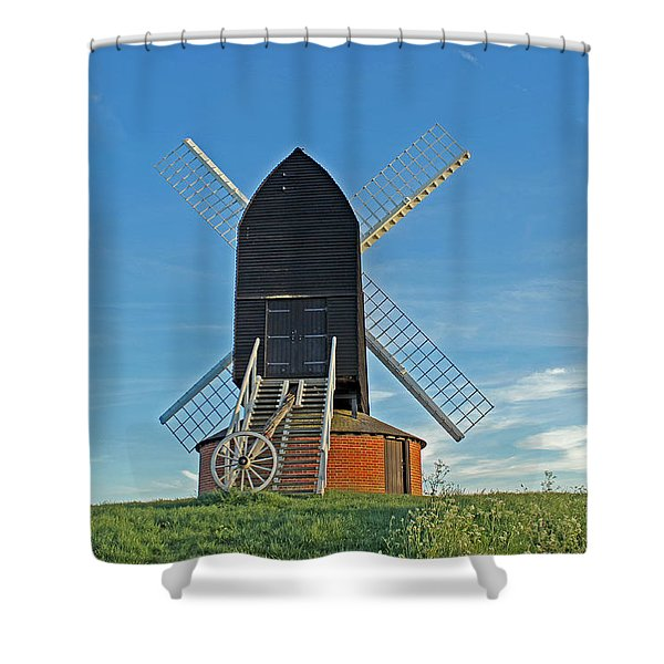 Windmill At Brill Shower Curtain