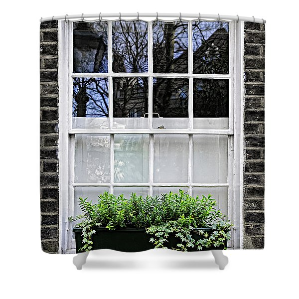 Window In London Shower Curtain
