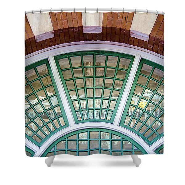 Shower Curtain featuring the photograph Windows Of Ybor by Carolyn Marshall