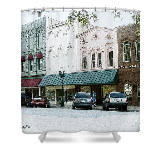 Windows On The Square Shower Curtain