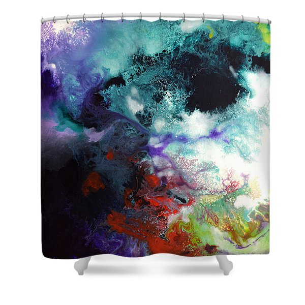 Windswept Canvas One Of Three Shower Curtain