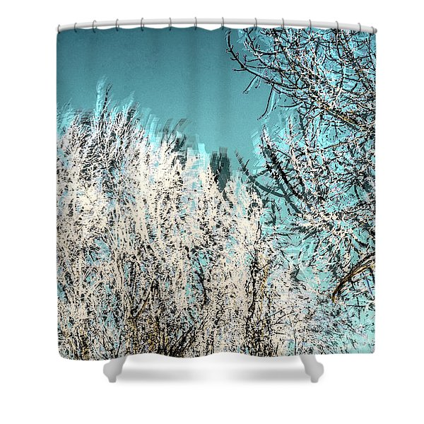 Windy Trees 13023 Shower Curtain