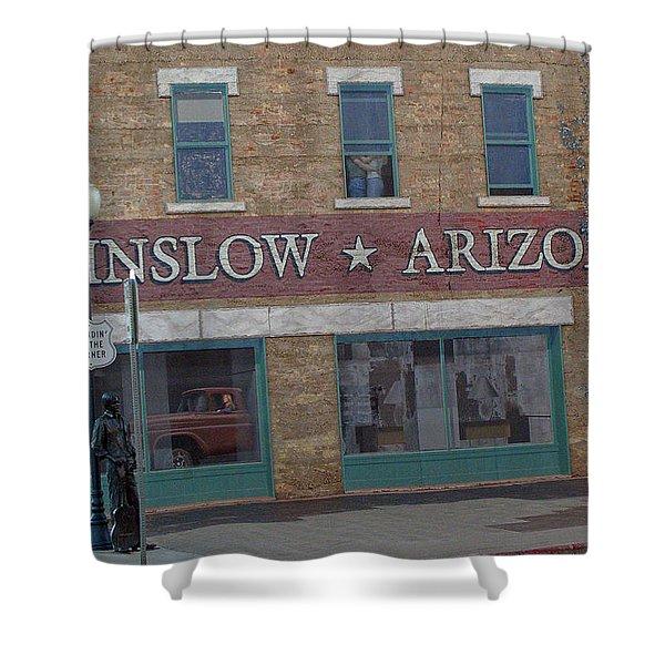 Winslow Arizona Shower Curtain