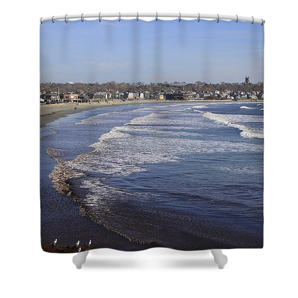 Winter In Newport Shower Curtain