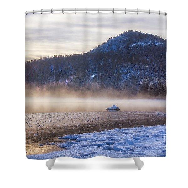 Winter Mist Shower Curtain