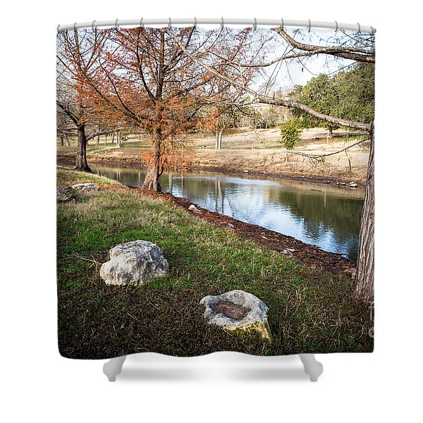Shower Curtain featuring the photograph Winter Trees by John Wadleigh