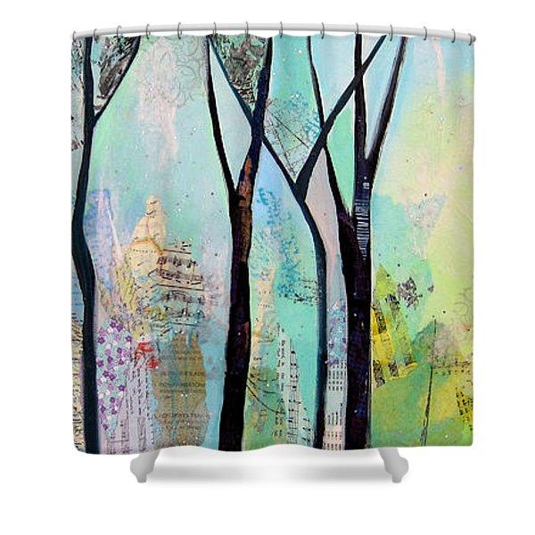 Winter Wanderings II Shower Curtain