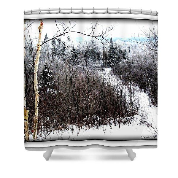 Winterlude Shower Curtain