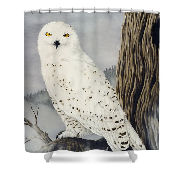 Winterwise Shower Curtain