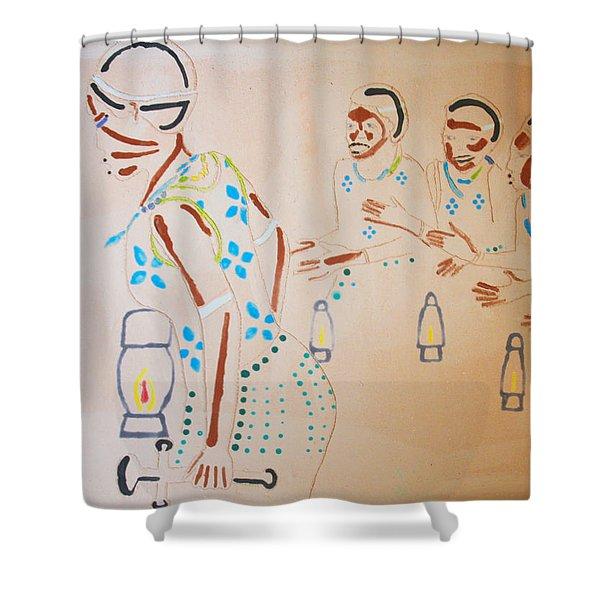 Wise Virgins Shower Curtain