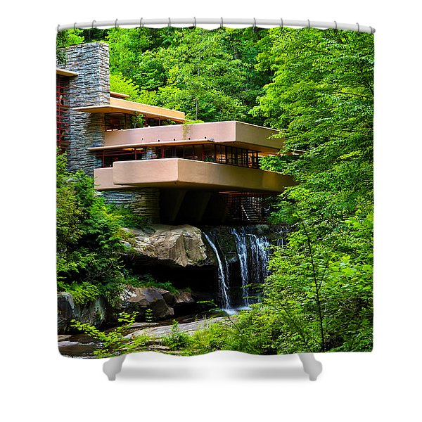 Wishes On Fallingwater Too Shower Curtain
