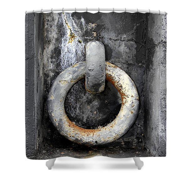 With This Ring In Key West Shower Curtain