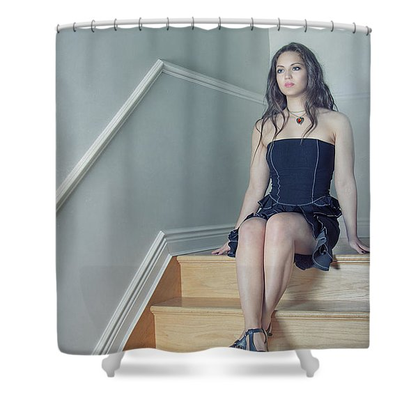Within My Heart Shower Curtain