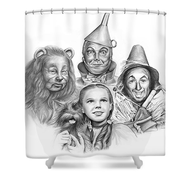 Wizard Of Oz Shower Curtain