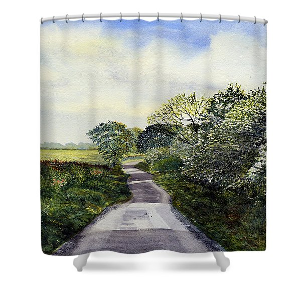 Woldgate - Late Spring Shower Curtain