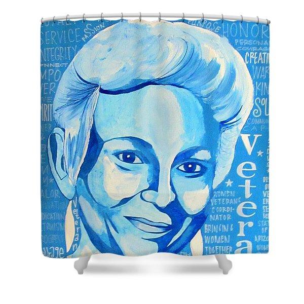 Woman Veteran Gabe Shower Curtain