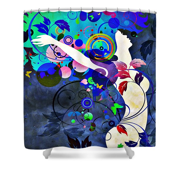 Wondrous Night Shower Curtain