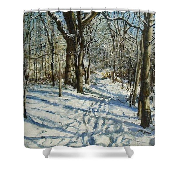 Woodland Journey Shower Curtain