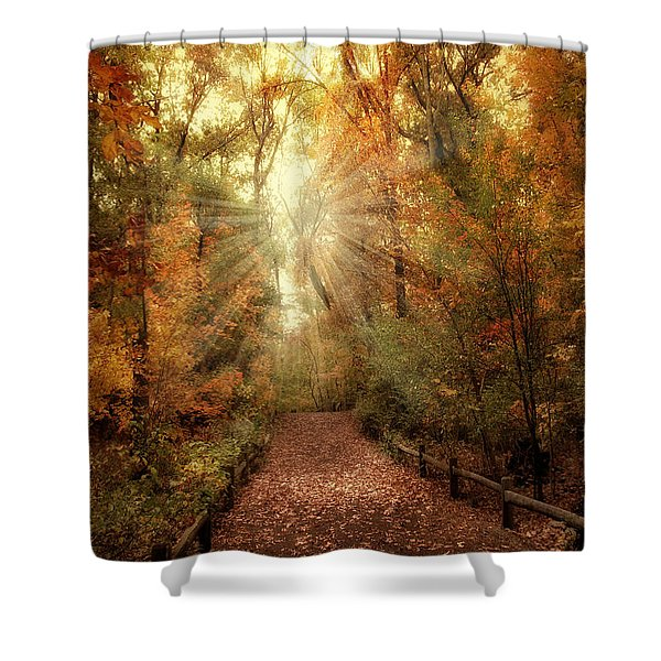 Woodland Light Shower Curtain