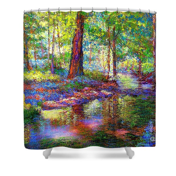 Woodland Rapture Shower Curtain