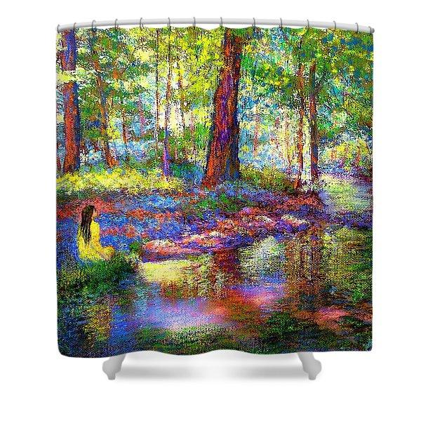 Woodland Rapture Shower Curtain