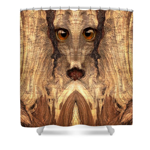Woody #12 Shower Curtain