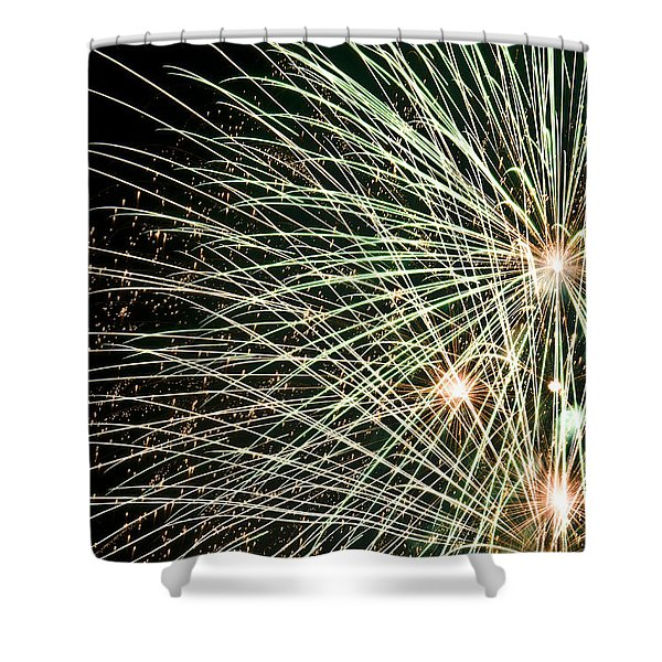 Works Of Fire IIi Shower Curtain